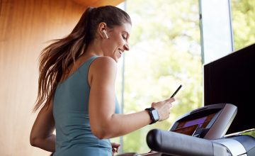 Purchase a treadmill