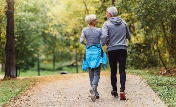 Health Matters walking couple